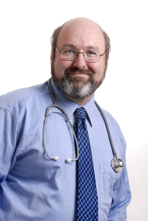 Download Smiling doctor stock image. Image of smile, healthcare - 1635047