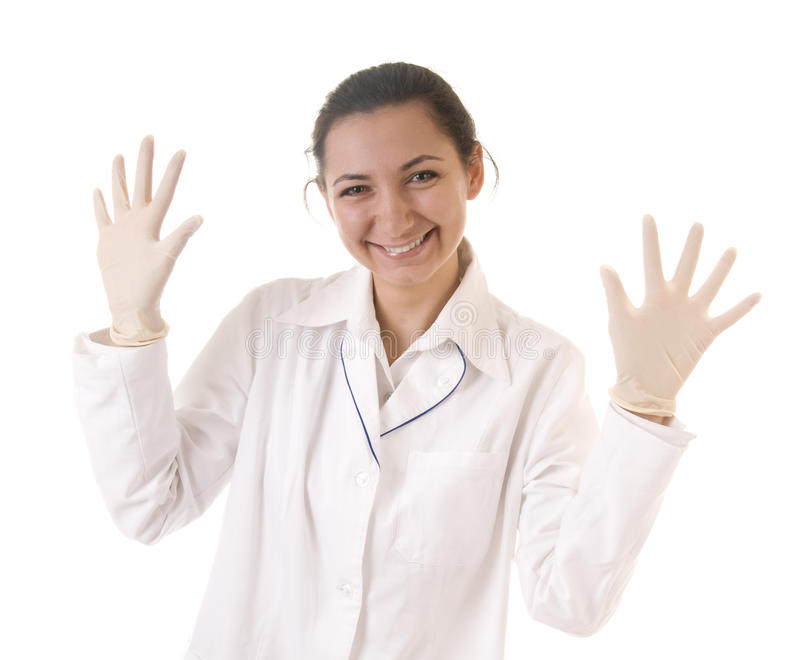 Download Smiling doctor stock image. Image of occupation, human - 16428303