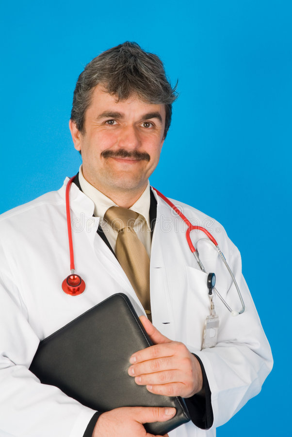 Download Smiling doctor stock image. Image of diagnostic, half - 2460387