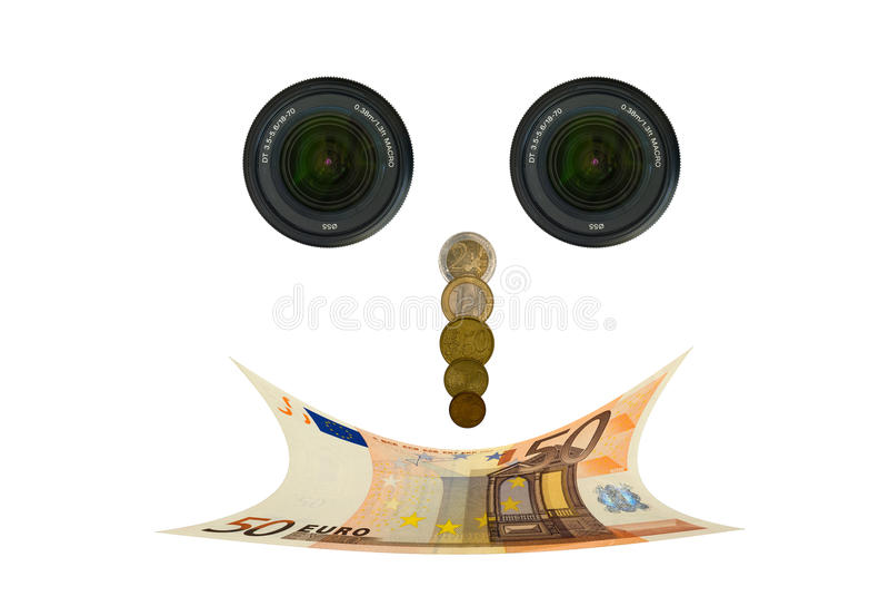 Smiling face royalty free stock photos