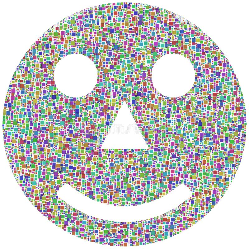 Download Smiling face stock vector. Illustration of colourful - 24224911