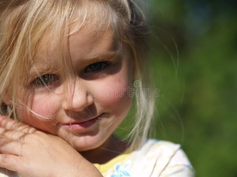 Download Smiling girl stock photo. Image of blondie, cute, czech - 19141818
