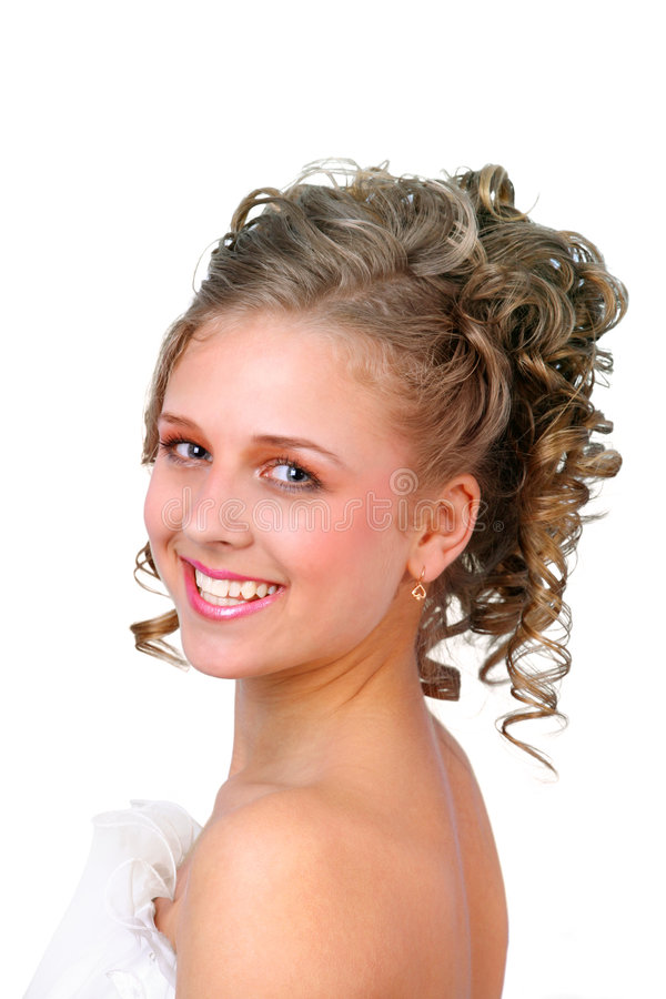 Smiling Girl 2 Royalty Free Stock Images