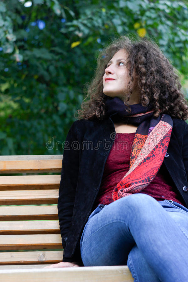 Download Smiling girl stock photo. Image of girl, conceptual, young - 26376804