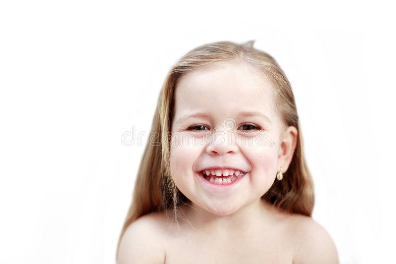 Download Smiling girl isolated stock photo. Image of look, cute - 1803140
