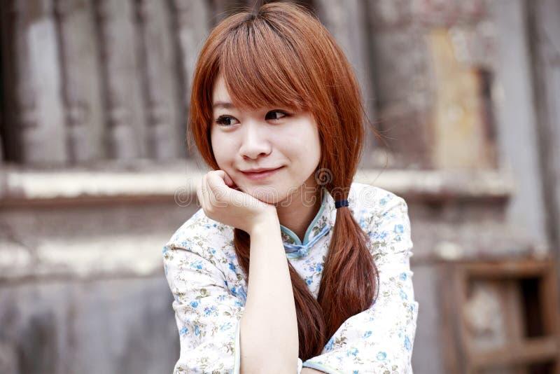 Download Smiling girl next door stock image. Image of ancient - 19992259