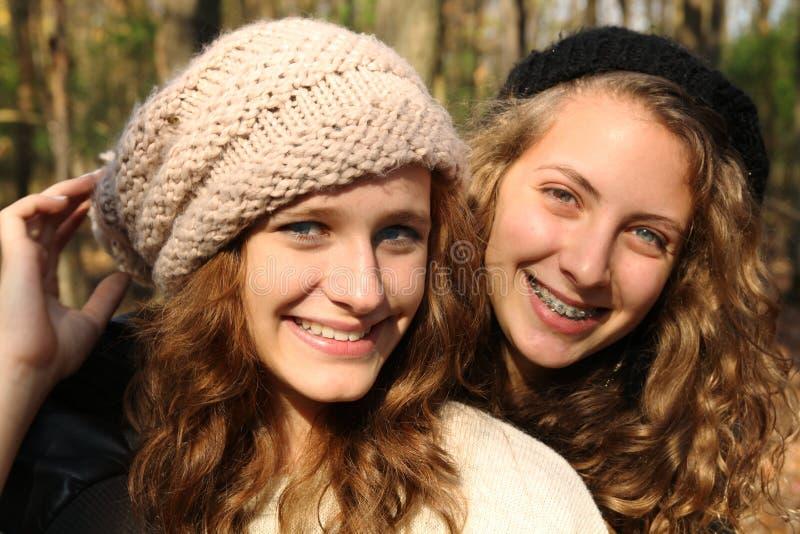 Smiling Girls Stock Image