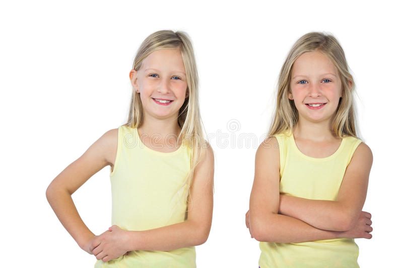 Download Smiling Girls With Arms Crossed Stock Photo - Image: 32231558