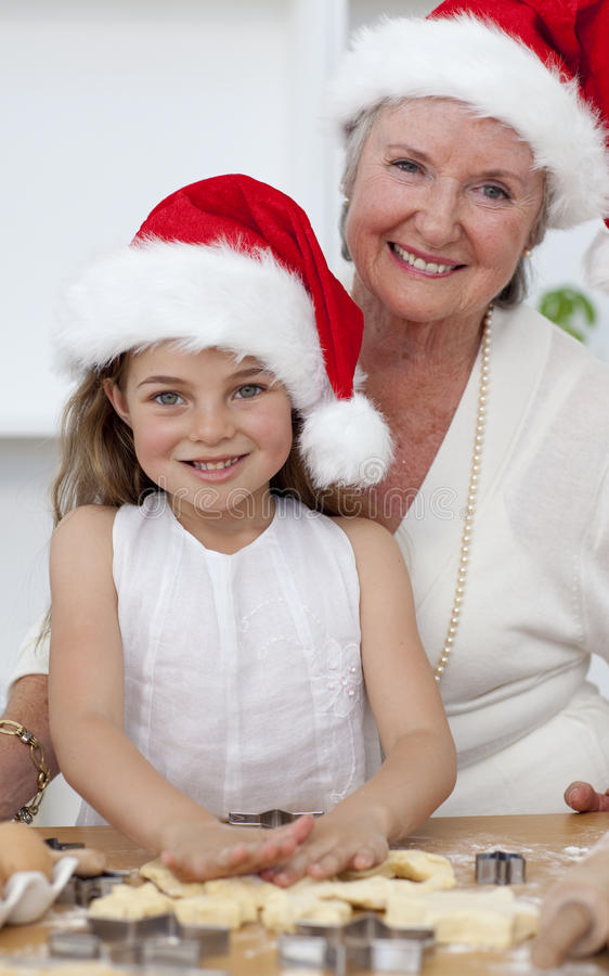 Download Smiling Grandmother And Little Girl Stock Image - Image: 11569063