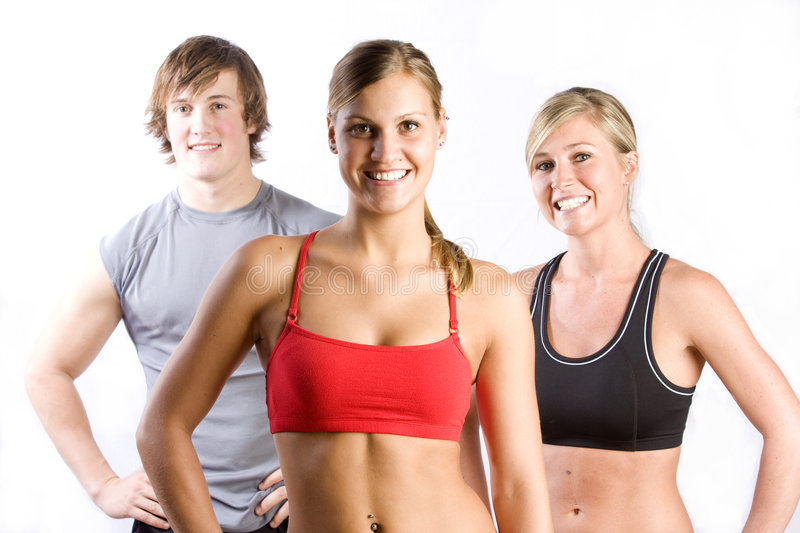 Smiling Group Of Friends Stock Photography