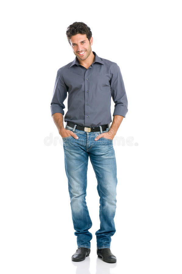 Download Smiling Guy Full Length Royalty Free Stock Images - Image: 22438539