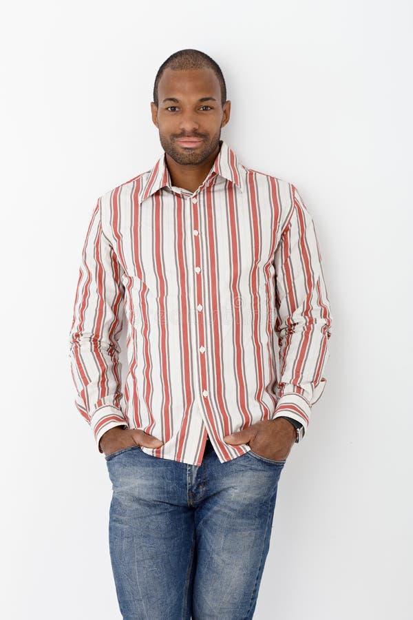 Download Smiling Handsome Ethnic Man Stock Image - Image: 27116423