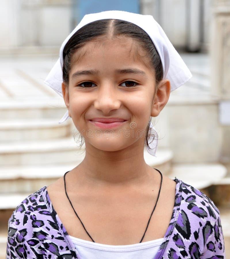 Smiling indian girl royalty free stock image