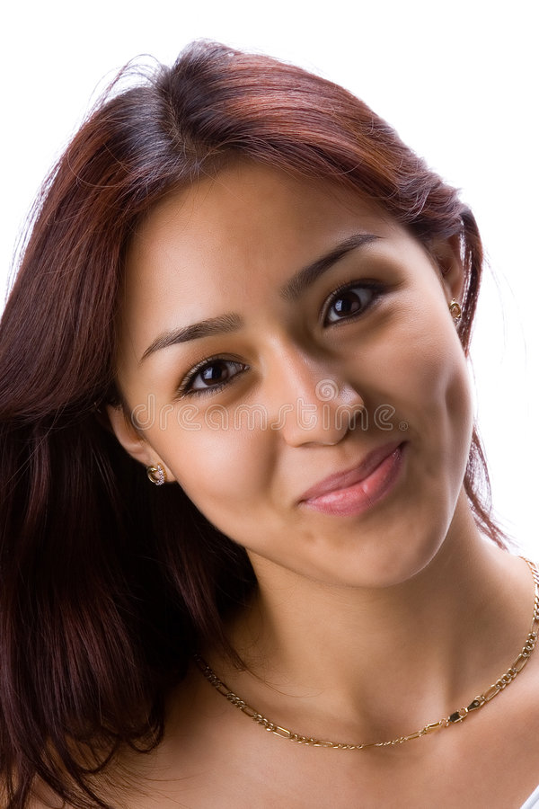 Download Smiling latin girl stock photo. Image of look, model, female - 946140