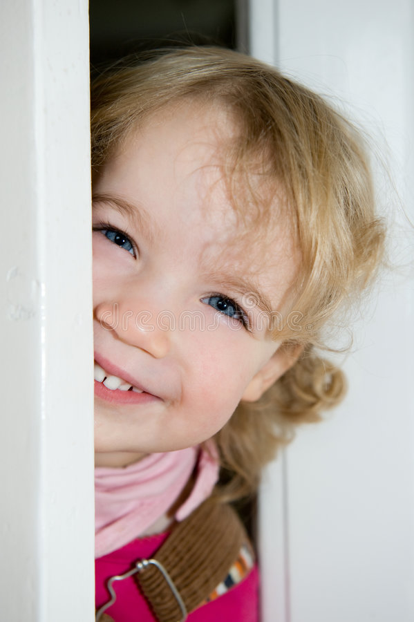 Download Smiling little girl stock photo. Image of tooth, bliss - 3791480
