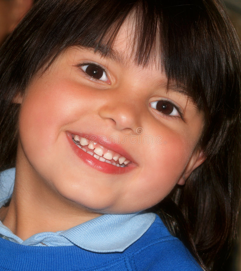 Download Smiling Little Girl stock photo. Image of expressive, innocence - 459570