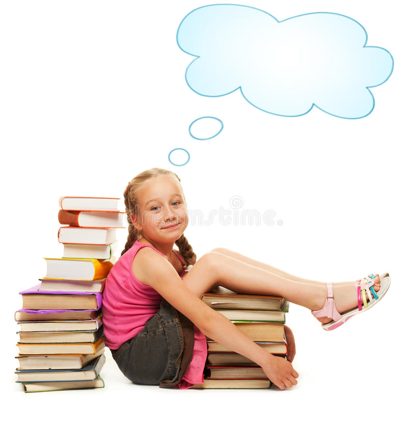 Download Smiling little schoolgirl stock photo. Image of face - 10329524
