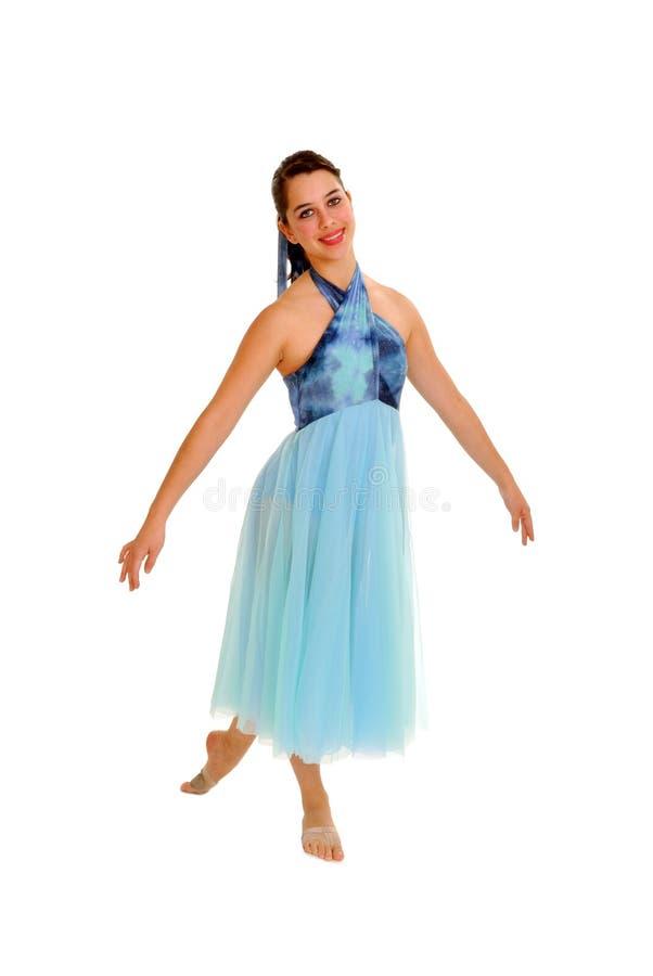 Free Smiling Lyrical Dancer Stock Photo - 18841110
