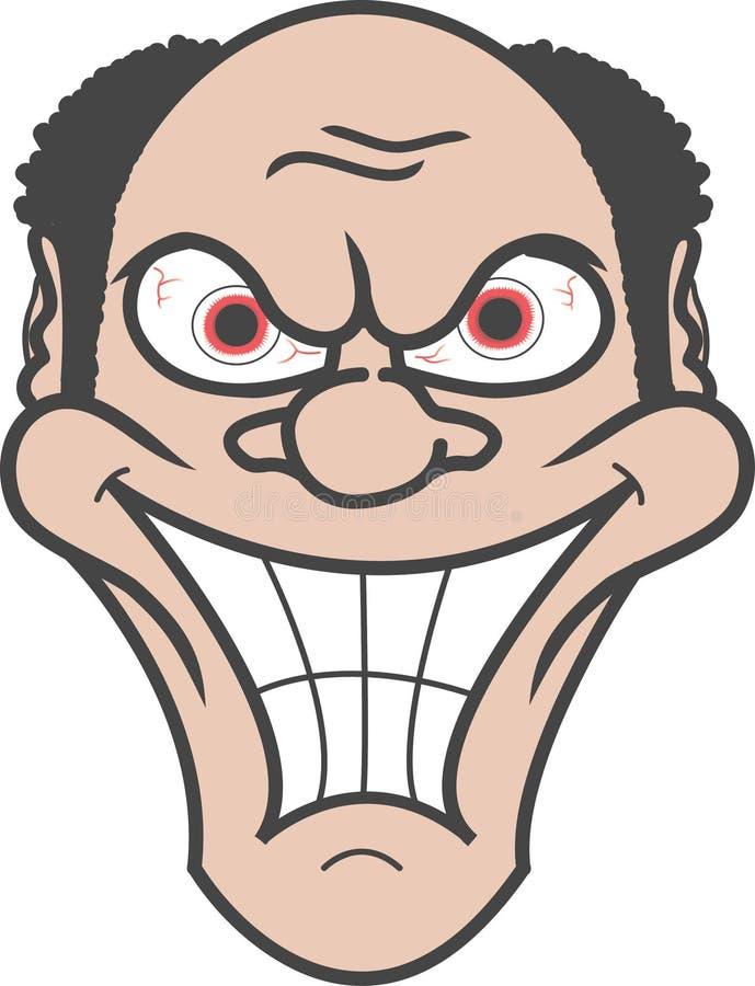 Download Smiling Man Over White Background Stock Illustration - Image: 24334226