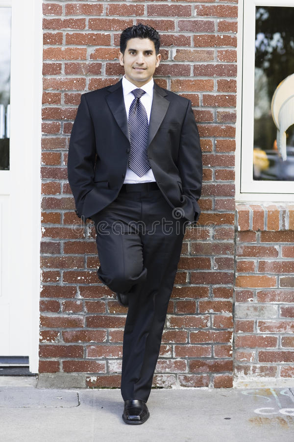 Download Smiling Man In Suit And Tie Stock Image - Image: 11116897
