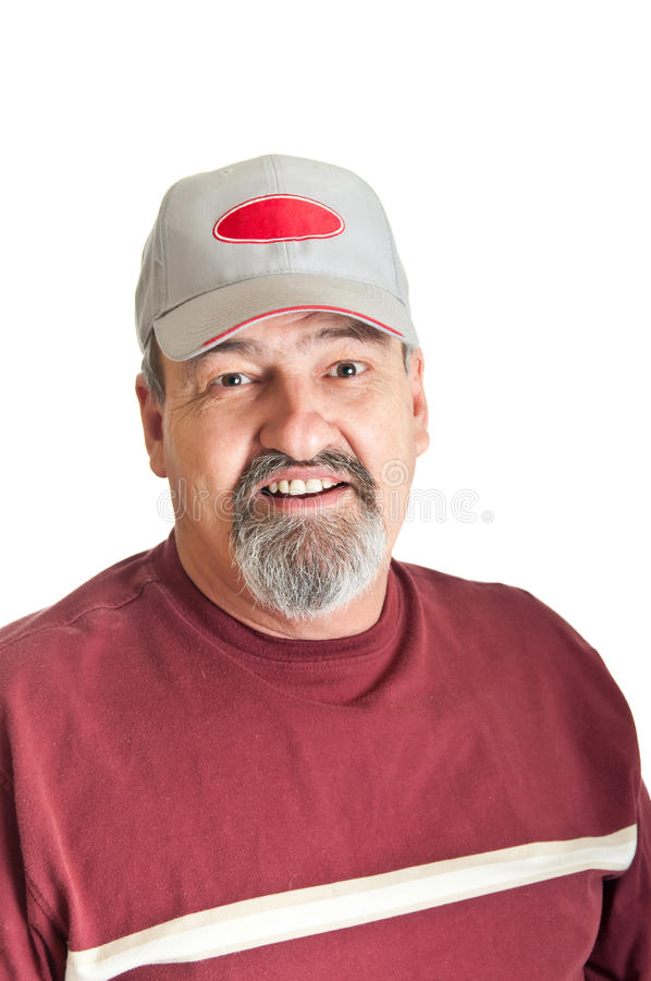 Smiling Mature Adult Male stock photography