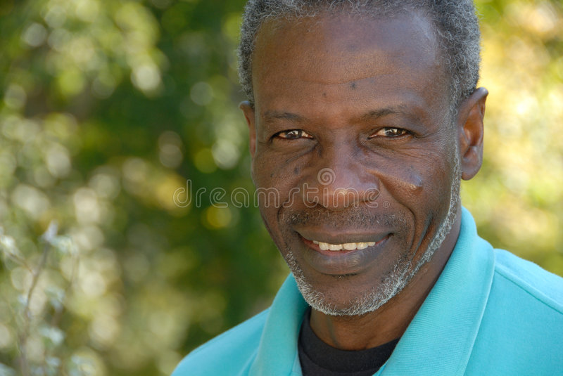 Smiling mature man royalty free stock image