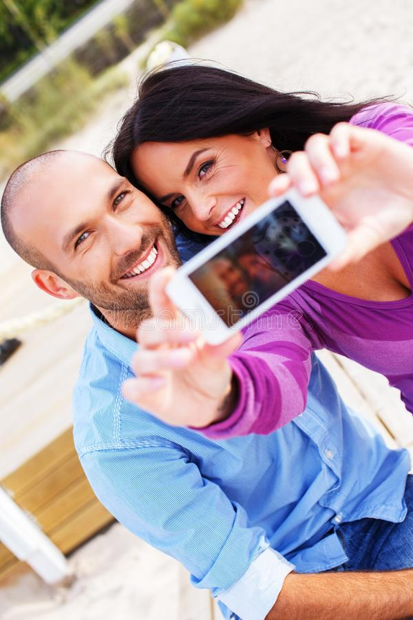 Download Smiling Middle-aged Couple Stock Photo - Image: 36530360