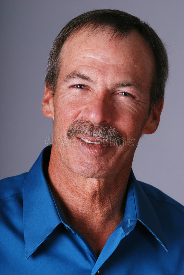 Smiling Middle Aged Man. Stock Image
