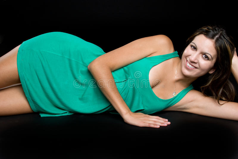 Download Smiling Model Stock Image - Image: 10467961