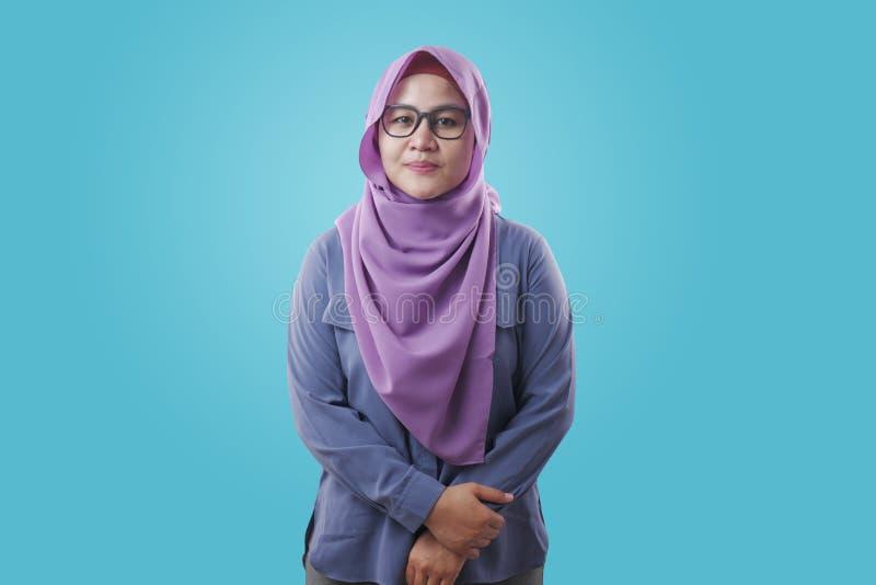 Smiling Muslim Woman royalty free stock photo