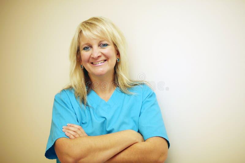 Smiling nurse royalty free stock photos