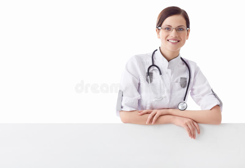 Smiling nurse royalty free stock photography
