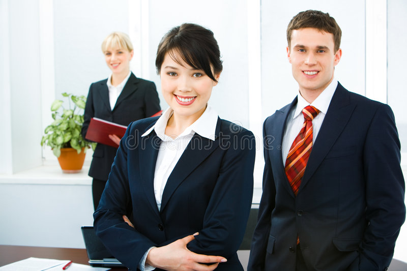 Smiling People Royalty Free Stock Images