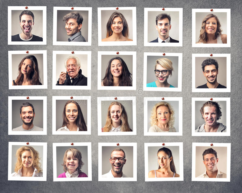 Download Smiling people stock photo. Image of different, group - 31130400