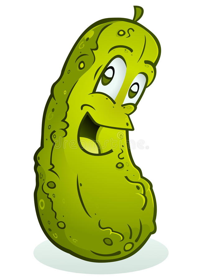 Free Smiling Pickle Stock Photo - 17220240