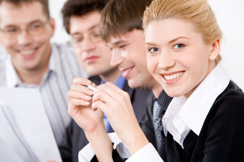 Download Smiling Professional Stock Photo - Image: 3881040