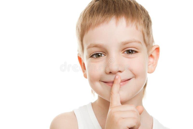 Download Smiling quiet boy stock image. Image of hand, clap, portrait - 19600111
