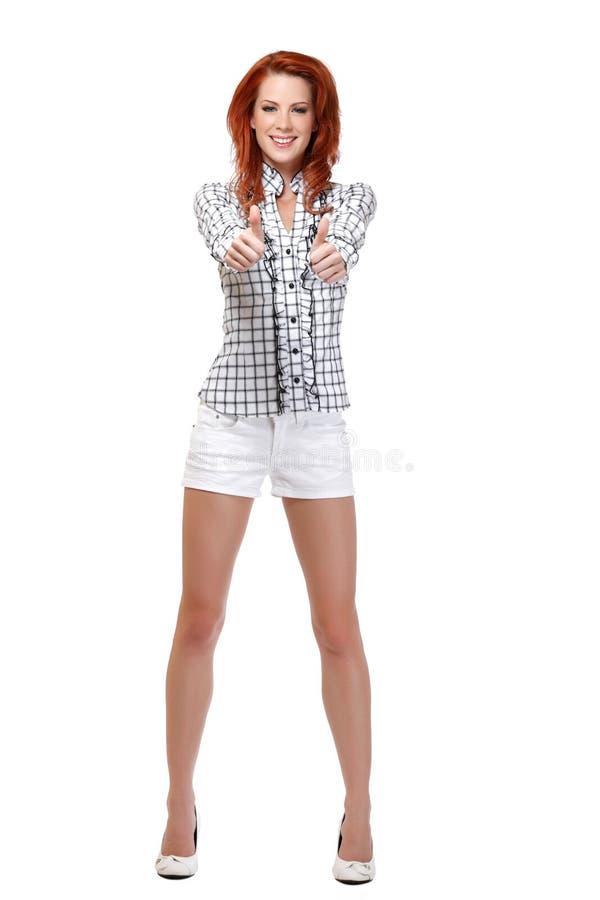 Redhead thumbs pic