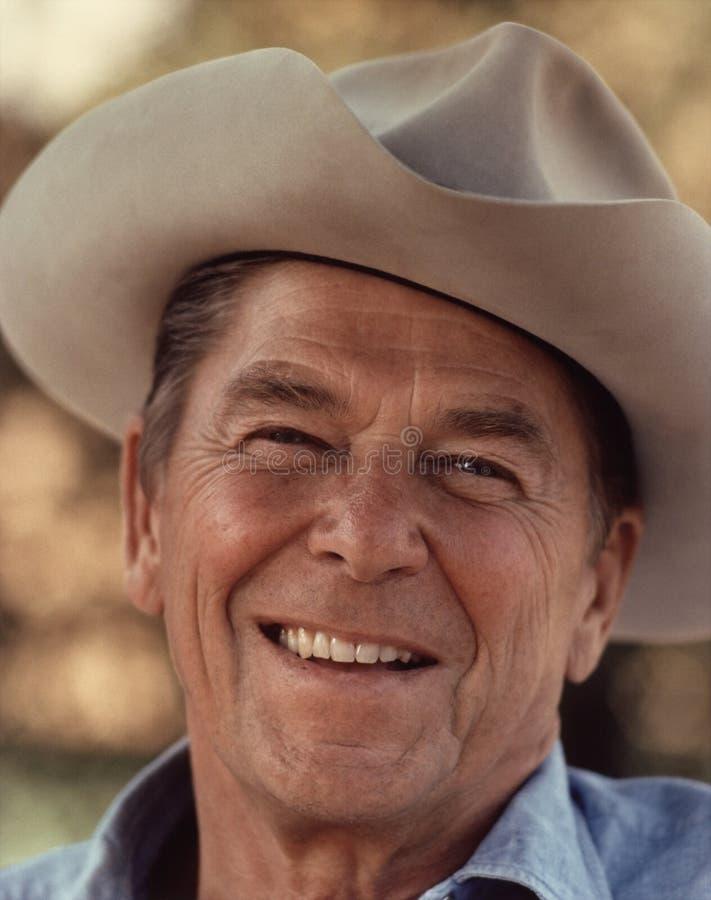 Smiling Ronald Reagan Free Public Domain Cc0 Image