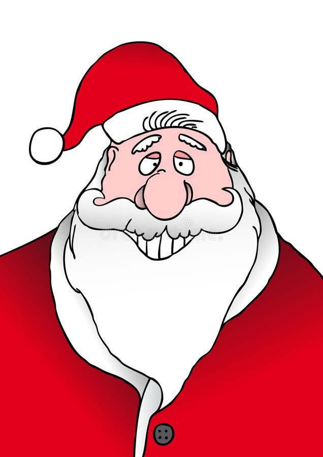 Smiling Santa stock photography