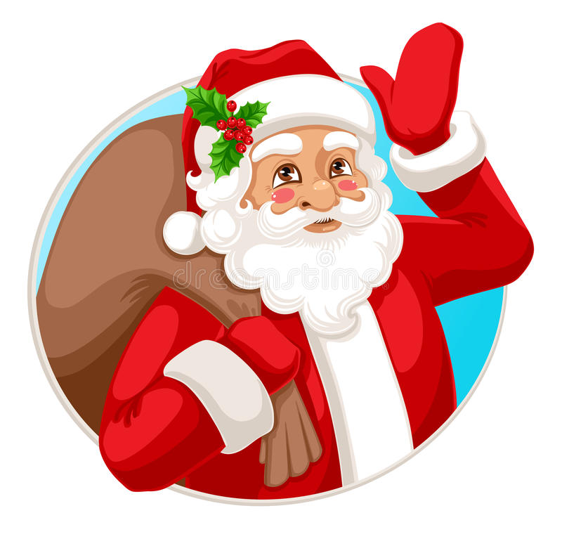 Smiling Santa Claus Royalty Free Stock Photo