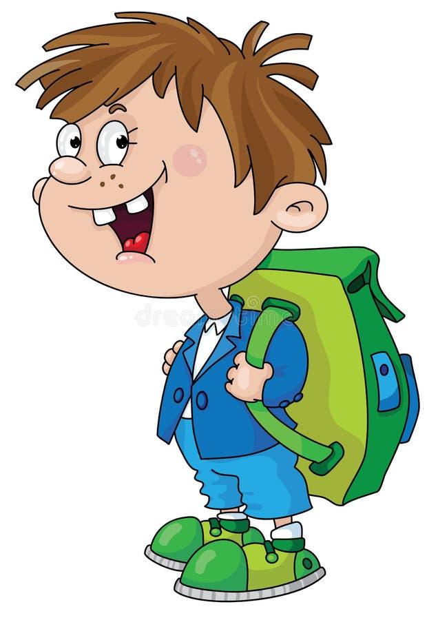 Download Smiling schoolboy stock vector. Illustration of schoolboy - 15825955