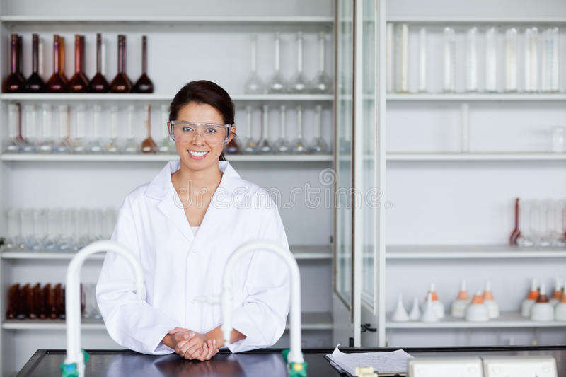 Download Smiling scientist posing stock photo. Image of hospital - 21146976