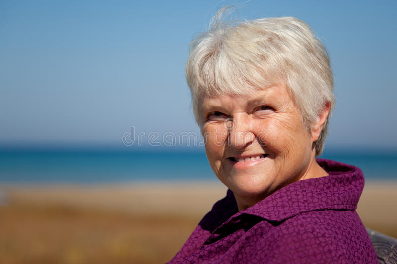 Download Smiling Senior stock image. Image of smiling, sunny, energy - 21526141