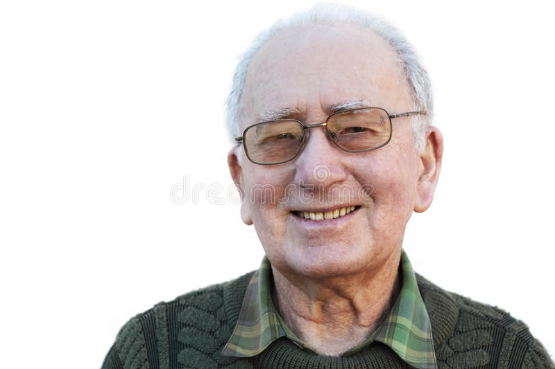 Smiling Senior Man Royalty Free Stock Image