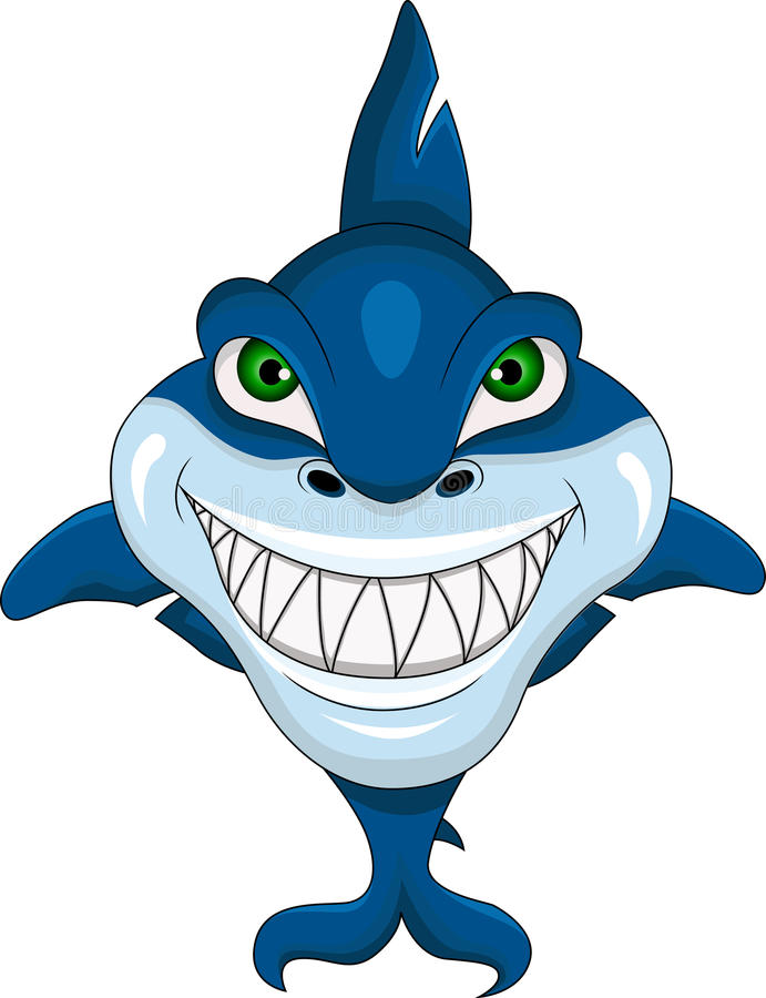 Download Smiling Shark Stock Illustration Of Icons