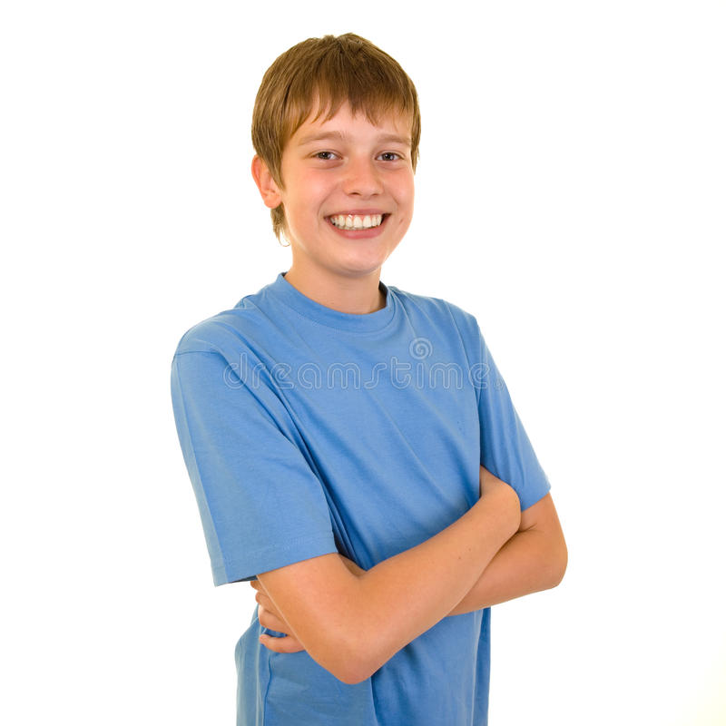 Smiling student stock images