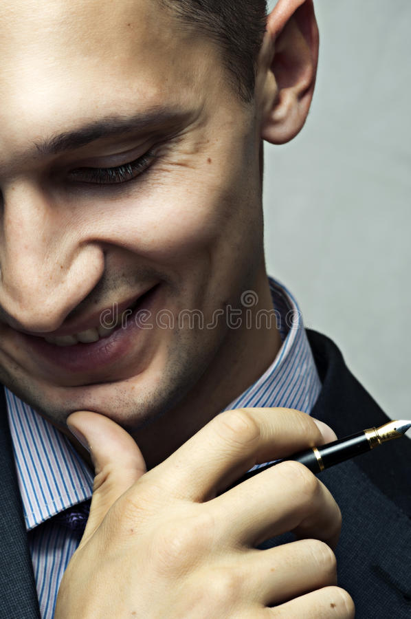 Download Smiling Successful Businessman Stock Photo - Image: 24010704