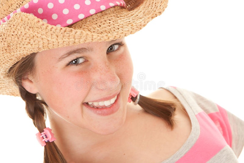 Download Smiling summer girl stock photo. Image of girl, happy - 29904020