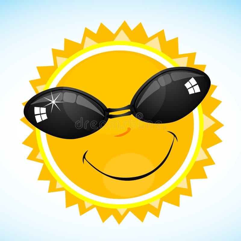 Smiling Sun Royalty Free Stock Photo